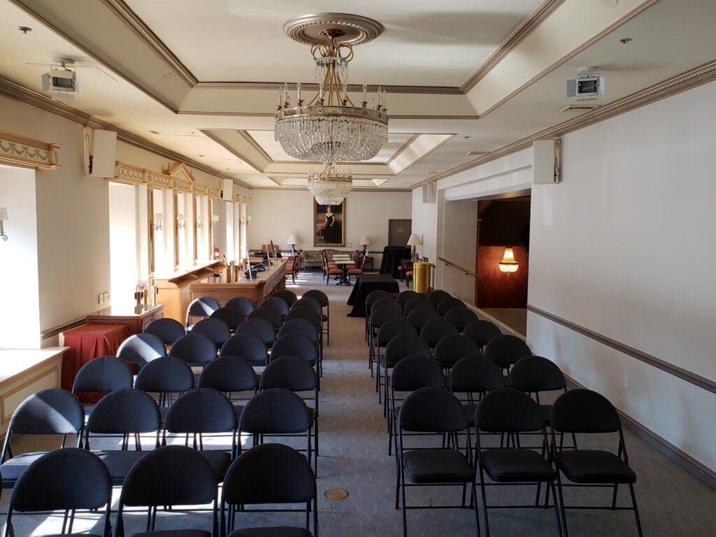 Helen Hayes second floor lounge.